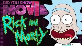 RICK AND MORTY - How to Troll Big Studios   Did You Know Movies