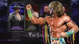 WWE 2K14 DEFEAT THE STREAK THE ULTIMATE WARRIOR