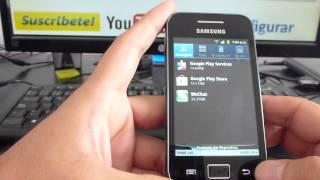Aumentar Memoria Samsung Galaxy Ace Gt S5830 Español