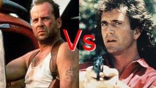 Bruce Willis Vs Mel Gibson Queda De Braço #2
