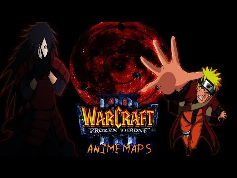 Mapas de naruto para Warcraft III The Frozen