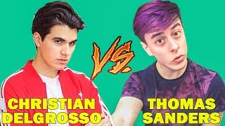 Christian DelGrosso Vines Vs Thomas Sanders Vines (W/Titles) Best Vine Compilation 2017