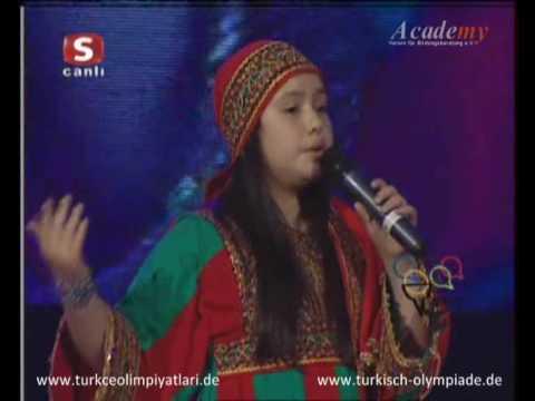 7. Uluslararası Türkçe Olimpiyatları - Busra Samimy - Gülpembe