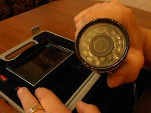 Подводную видеокамеру сделать своими руками