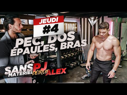 PJ COACH ALEX EN LIVE : PECS DOS EPAULES BRAS : ÇA FINIT EN PLS 🚨