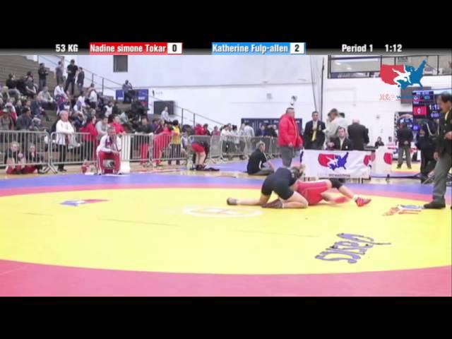 WM 53 KG - Nadine simone Tokar vs. Katherine Fulp-allen