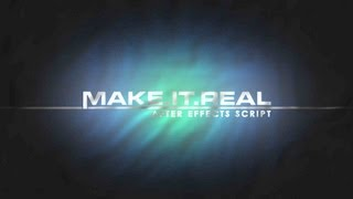 Make It Real - Free After Effects Preset