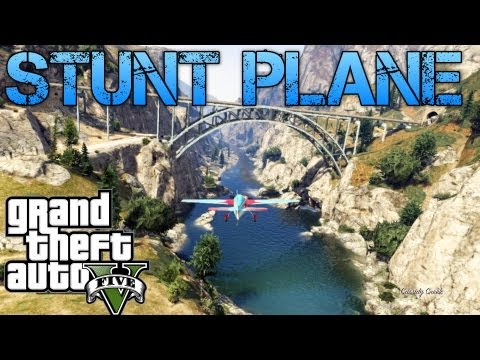 Grand Theft Auto V Challenges | STUNT PLANE AND TRAIN TOP COP CHASE | PS3 HD Gameplay