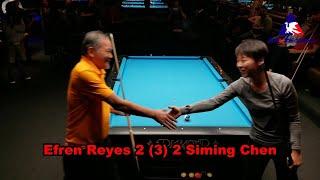 Efren Reyes vs #1 Female World Champion Siming Chen Exhibition