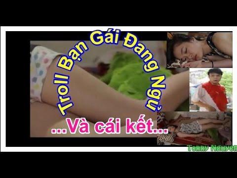 Troll cô gái đang ngủ say và cái kết bất ngờ✔ - thằng bạn thân khốn nạn quá =))