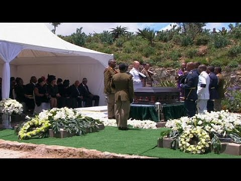 Qunu buries its most famous son as the world says farewell to Nelson Mandela