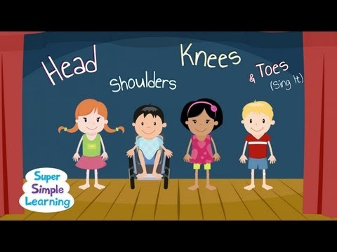 Head Shoulders Knees & Toes (Sing It!)