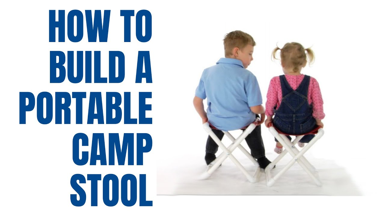 How To Make A Pvc Camp Stool Youtube