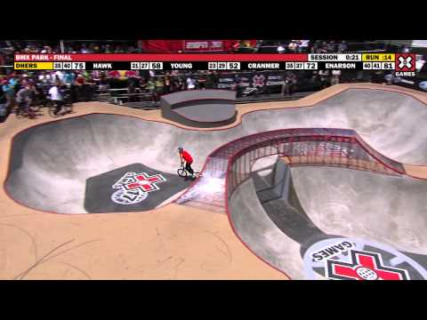X Games 17: Daniel Dhers takes Gold at BMX Park Final