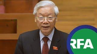 Ông TBT Nguyễn Phú Trọng ráo riết diệt tham nhũng, liệu có thành công? | © Official RFA Video