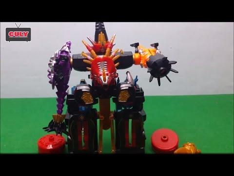 Robot siêu nhân khủng long sấm sét Dino Thunder Megazord Toy for kid đồ chơi trẻ em