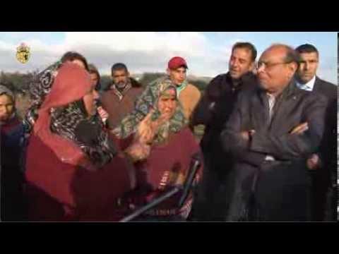 image vidéo المرزوقي للنساء الريفيات: انتن نساء تونس بحق