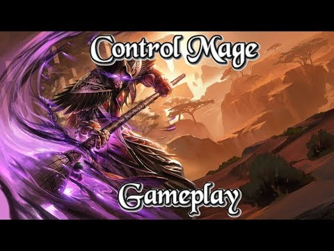 Gameplay: Myao's Control Mage Kobolds And Catacombs (Hearthstone Guide How to Play)