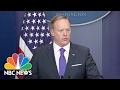Sean Spicer: Michael Flynn Resigned Over Trust Issue, Not Legal Issue | NBC News