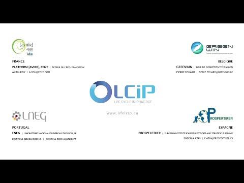 Projet européen Life Cycle In Practice : France, Belgique, Espagne, Portugal