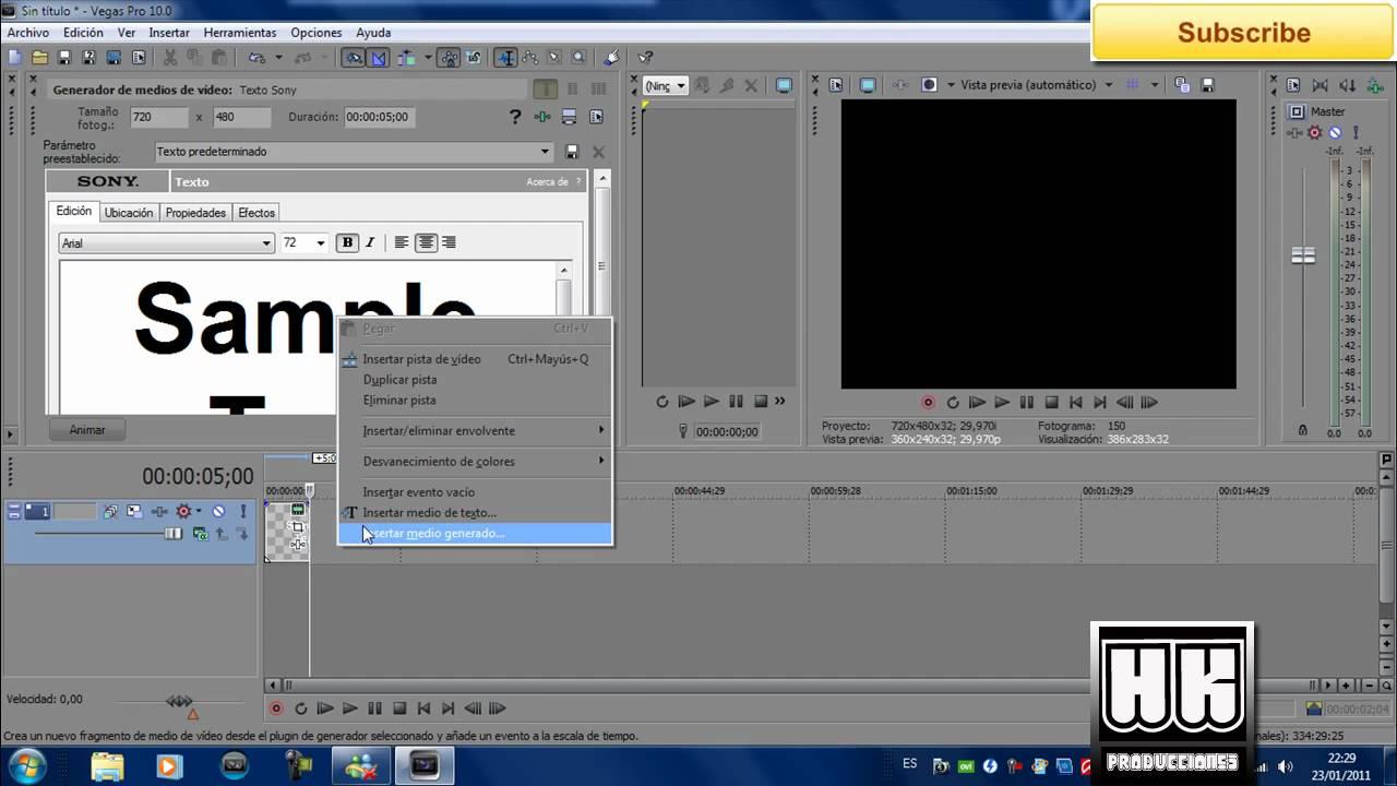 Efectos Y Trucos En Sony Vegas Pro 10 FULL HD - VidInfo