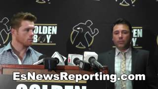 Canelo Alvarez On Fighting Chavez Jr EsNews