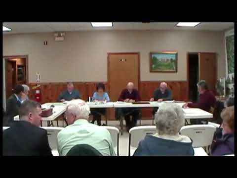 Altona Town Board Meeting 1-13-14