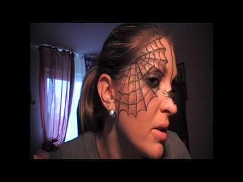 The itsy bitsy spider Make-up... Hilfe ich hab eine Spinne im Gesicht!