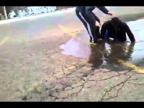 Epic Puddle Jump Fail