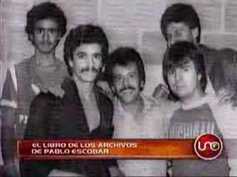 El libro de los archivos de Pablo Escobar 22 sep. 2007