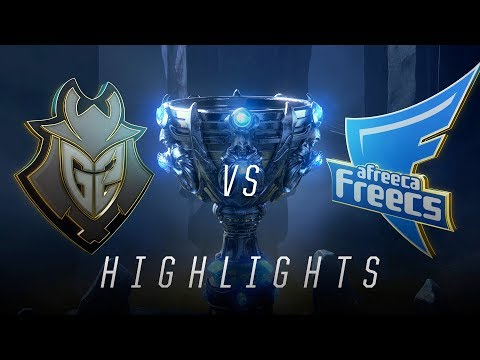 G2 vs. AFs - Worlds Group Stage Day 6 Match Highlights (2018)