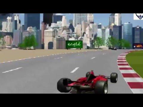 hoạt hình đua xe siêu tốc vui nhộn 3d