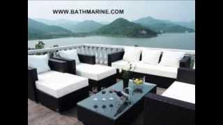 [BATHMARINE.COM MUEBLES RATTAN SINTETICO Terraza Jardin Exterior,] Video