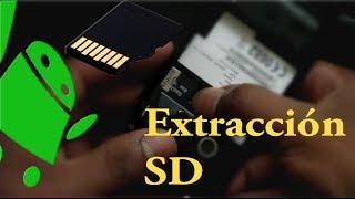 Desmontar Y Extracción De La Tarjeta Micro SD Del Sony