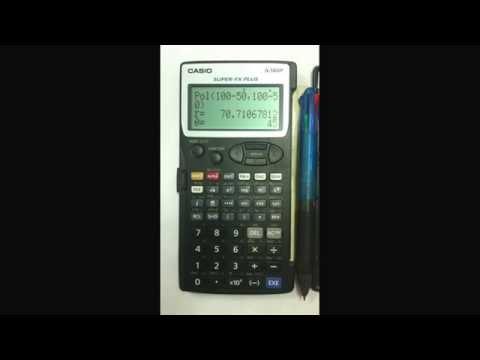Casio Fx 5800p Programming Examples