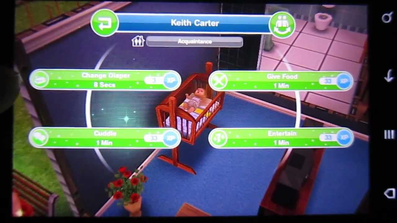 How to actually have a baby in the sims freeplay android for Sims freeplay baby bathroom
