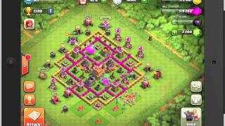 The BEST Clash Of Clans Town Hall Level 7 Defense Strategy