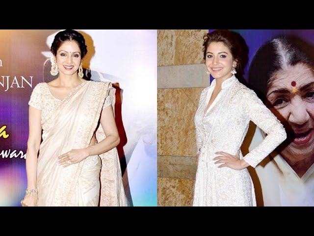 Sridevi and Anushka Sharma: Alluring and graceful in white