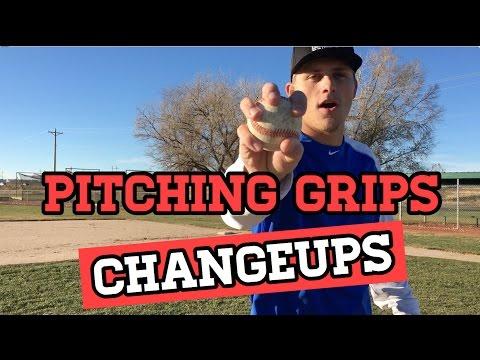 Baseball Pitching Grips - Changeups (Circle, Star, Vulcan)