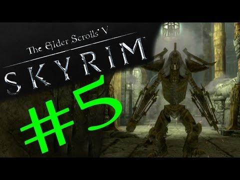 #5 The Elder Scrolls V: Skyrim - Zwiedzanie krasnoludzkiej świątyni