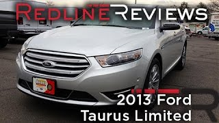 2013 Ford Taurus SHO - First Drive Review - CAR and DRIVER videos