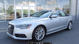 2012 Audi A6 3.0T Prestige Start Up, Exhaust, and In Depth Tour videos
