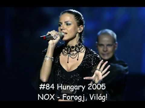 My Top 100 - Eurovision (2000 - 2011) Part 1
