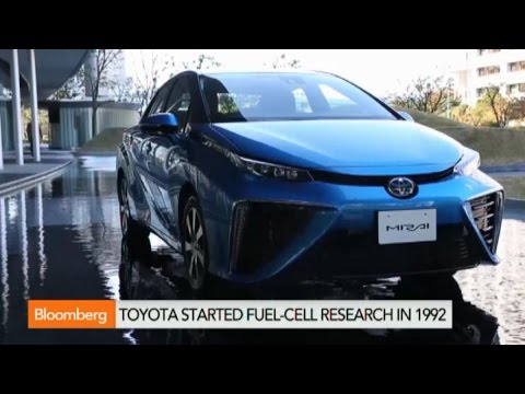 Toyota Drives Hydrogen Fuel-Cell Release