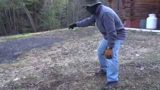 Hand to Hand Combat with a Wild Grouse