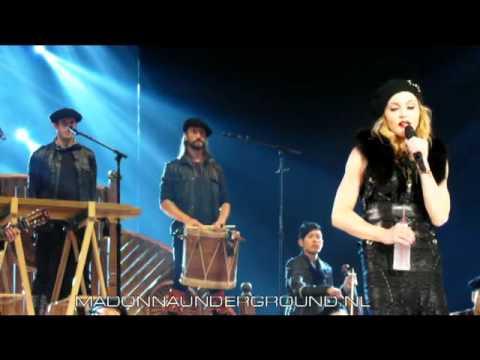 Madonna MDNA Tour Speech Amsterdam July 8 2012 Ziggo Dome