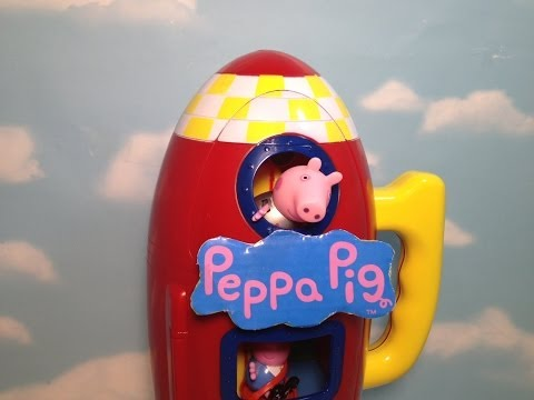 Peppa Pig Space Ship Funny Rocket Ship Toy Review