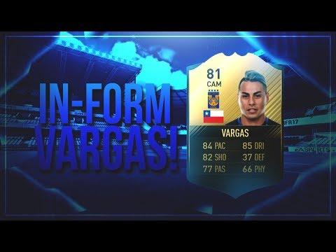 IF EDU VARGAS! THE CHILEAN LEGEND! FIFA 17 ULTIMATE TEAM