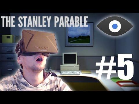 The Stanley Parable with the Oculus Rift - Part 5 | ESCAPE POD ENDING | HEAVEN ENDING