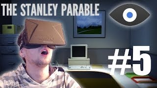 The Stanley Parable with the Oculus Rift - Part 5 | ESCAPE POD ENDING | HEAVEN ENDING